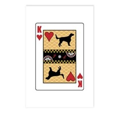King Setter Postcards (Package of 8)