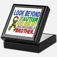 Look Beyond 2 Autism Brother Keepsake Box