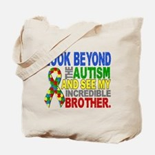 Look Beyond 2 Autism Brother Tote Bag