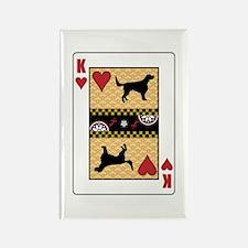King Setter Rectangle Magnet (10 pack)