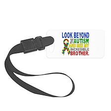 Look Beyond 2 Autism Brother Luggage Tag