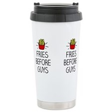 Double fries before guy Travel Mug