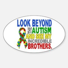 Look Beyond 2 Autism Brothers Decal