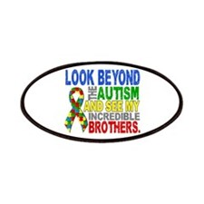Look Beyond 2 Autism Brothers Patches