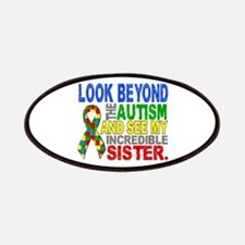 Look Beyond 2 Autism Sister Patches