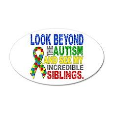 Look Beyond 2 Autism Sibling Wall Decal