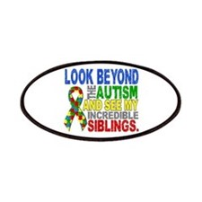 Look Beyond 2 Autism Siblings Patches