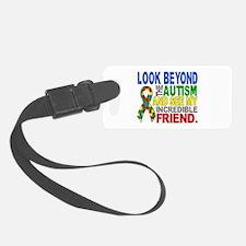 Look Beyond 2 Autism Friend Luggage Tag