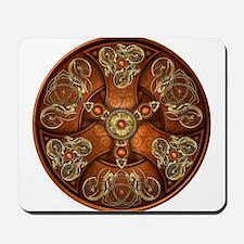Celtic Shields - Copper Chieftain Mousepad