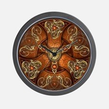 Celtic Shields - Copper Chieftain Wall Clock