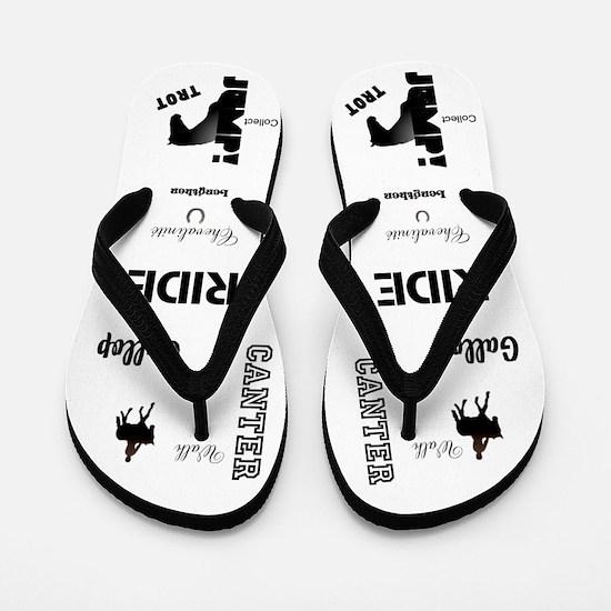 Funny Pony lover Flip Flops