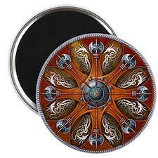 "Norse Shield - Aegishjalmur 2.25"" Magnet (10 pack)"