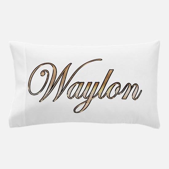 Gold Waylon Pillow Case