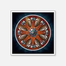 "Norse Shield - Aegishjalmur Square Sticker 3"" x 3"""