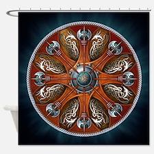 Norse Shields - Aegishjalmur Shower Curtain