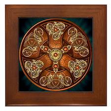 Celtic Shields - Copper Chieftain Framed Tile
