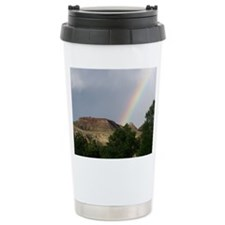 Western rainbow Travel Mug