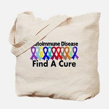 Autoimmune Disease Cure Tote Bag