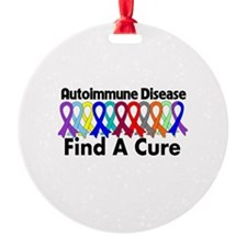 Autoimmune Disease Cure Ornament