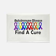 Autoimmune Disease Cure Rectangle Magnet