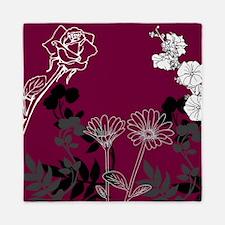 Floral Life Queen Duvet