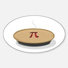 I Like Pi(e) Sticker (Oval)