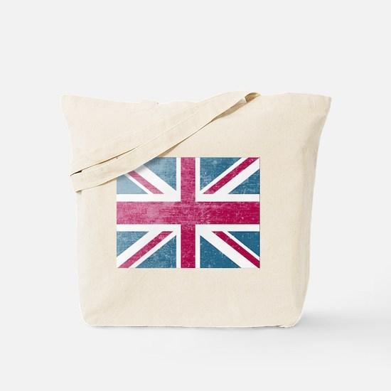 Union Jack Retro Tote Bag