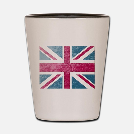 Union Jack Retro Shot Glass