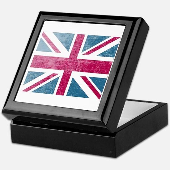 Union Jack Retro Keepsake Box
