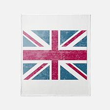 Union Jack Retro Throw Blanket