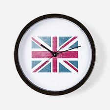 Union Jack Retro Wall Clock