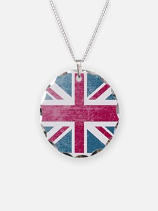 Union Jack Retro Necklace
