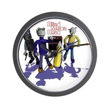 Blind Melon Head Wall Clock