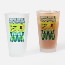 ICU Nurse 1 Drinking Glass