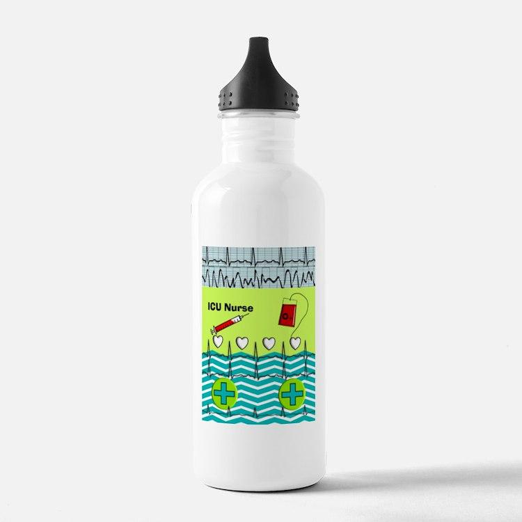 ICU Nurse 1 Water Bottle