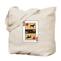 Queen Terrier Tote Bag