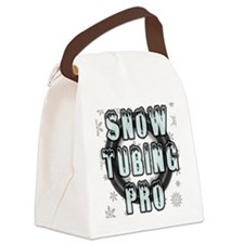 Snow Tubing Pro Canvas Lunch Bag