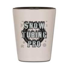 Snow Tubing Pro Shot Glass