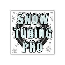 "Snow Tubing Pro Square Sticker 3"" x 3"""