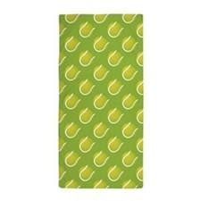 Tennis Balls Beach Towel