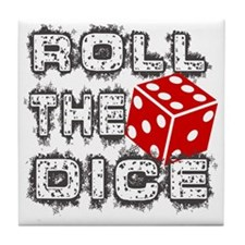 Roll the Dice Tile Coaster