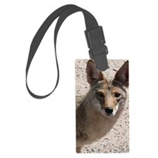 Coyote Luggage Tag