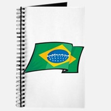 Brazilian Flag Journal