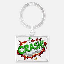 Crash 2 Landscape Keychain
