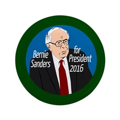 Bernie Sanders For President 2016 Large Button
