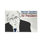 Bernie Sanders For President Campaign Magnet