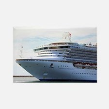 Cruise ship 15 Rectangle Magnet