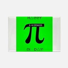 Pi day Magnets