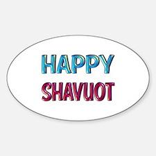 Happy Shavuot Decal