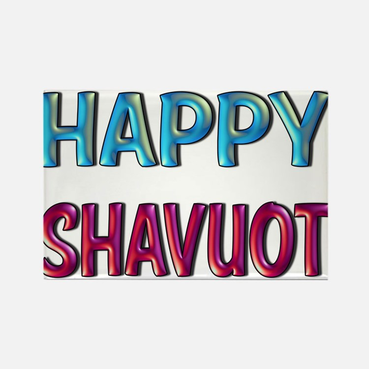 HAPPY SHAVUOT Magnets